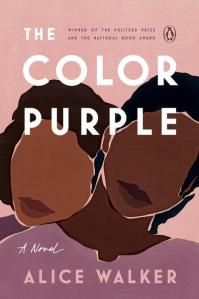Penguin House book cover of The Color Purple.